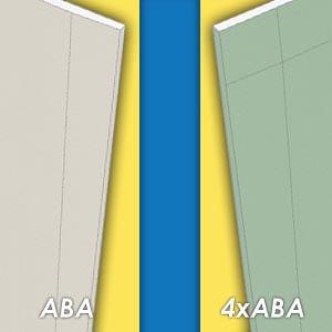 Plaque de plâtre ABA ou 4xABA: quelle est la différence?