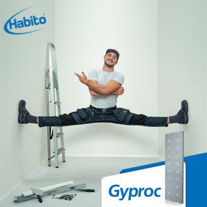 Installer une cloison avec Gyproc Habito®