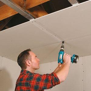 Installer un plafond Gyproc PlaGyp S