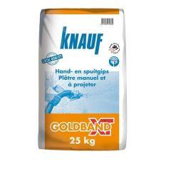Knauf Goldband Gipspleister 25kg 56604