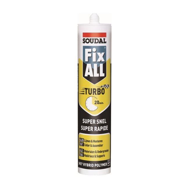 Soudal Fix-All Turbo 290ml Wit