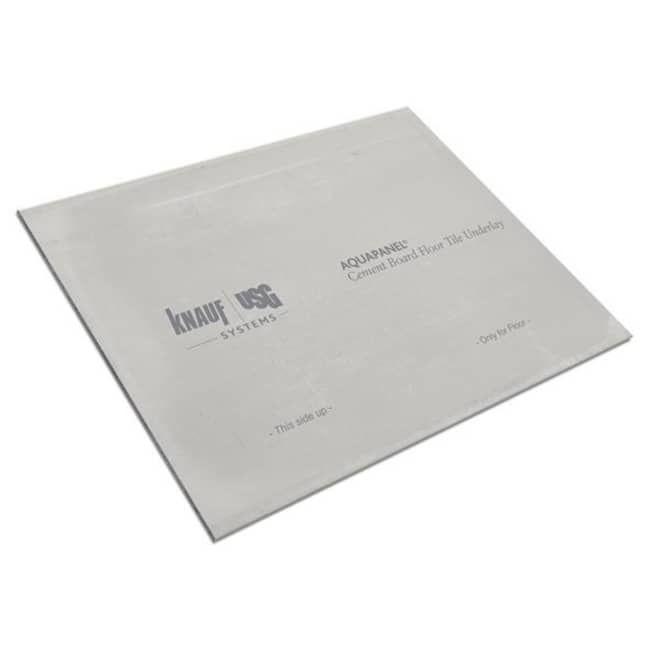 Plaque en ciment Knauf Aquapanel Outdoor de 1,2 m x 0,9 m x 12,5 mm