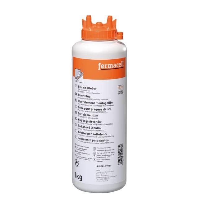 Fermacell montagelijm 1kg voor vloerelementen 79022