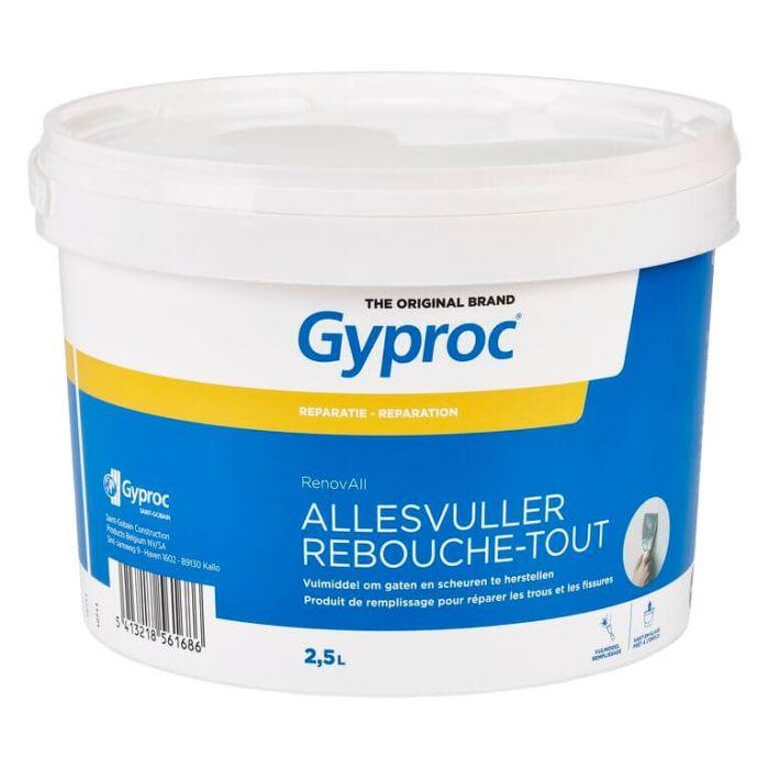 Gyproc RenovAll Pleisterplamuur 2,5L G109388
