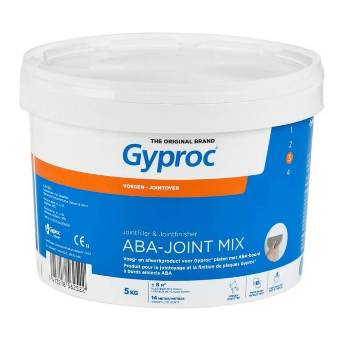 Gyproc ABA-Joint Mix Voegmiddel Pasta 5kg G109355