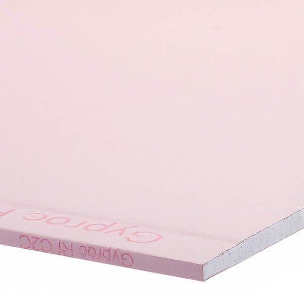 Plaque de plâtre Gyproc RF 4xABA de 2,5m x 1,2 m x 15 mm