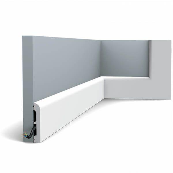Orac Decor Plinthe SX183 Cascade 75 mm x 13 mm x 2m