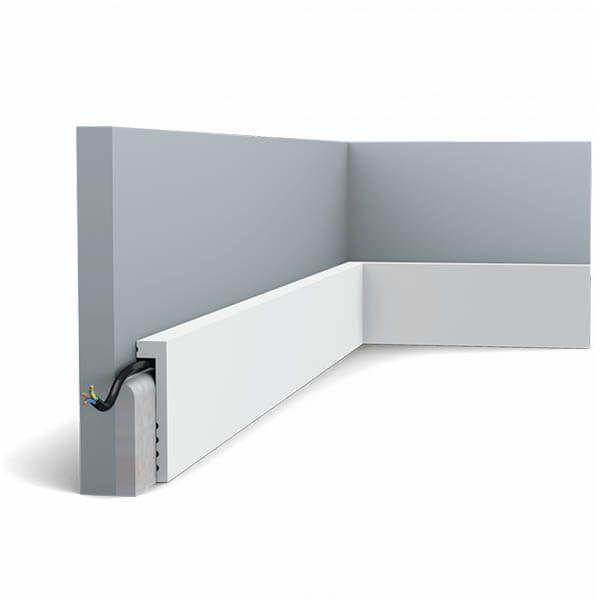 Orac Decor Plinthe Square SX171 100 mm x 22 mm x 2m