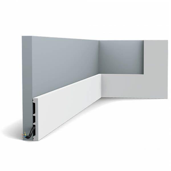 Orac Decor Plinthe Square SX163 102 mm x 13 mm x 2m