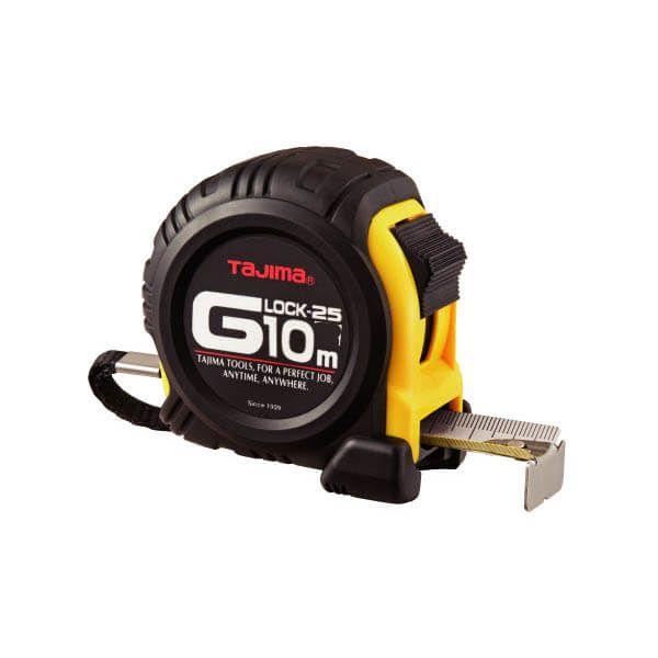 Mètre ruban Tajima G-Lock de 10 m x 25 mm