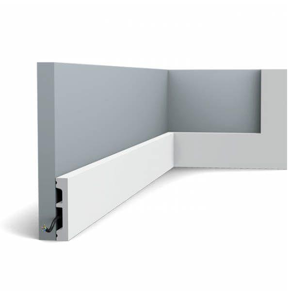 Orac Decor Plinthe Square SX157 66 mm x 13 mm x 2m