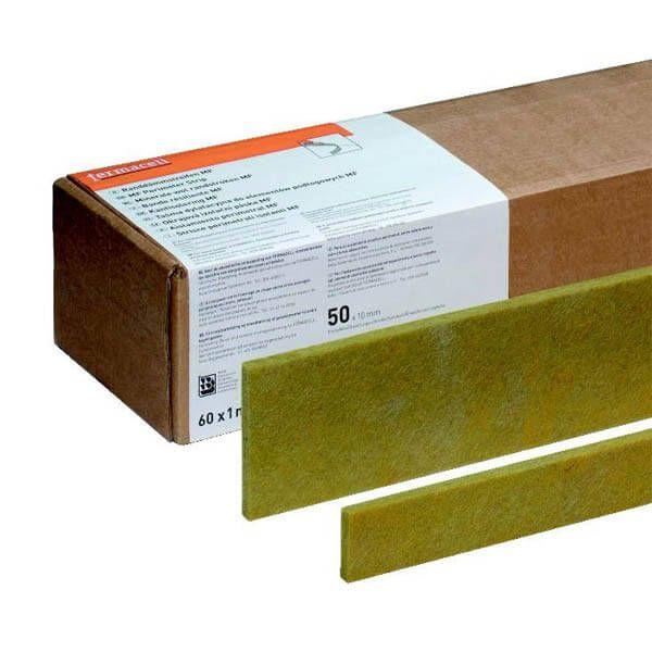 Bandes latérales Fermacell en laine minérale de 1 m x 30 mm x 10 mm