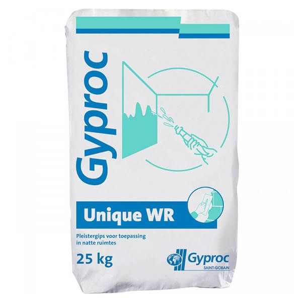 Plâtre Gyproc Unique WR en sacs de 25 kg