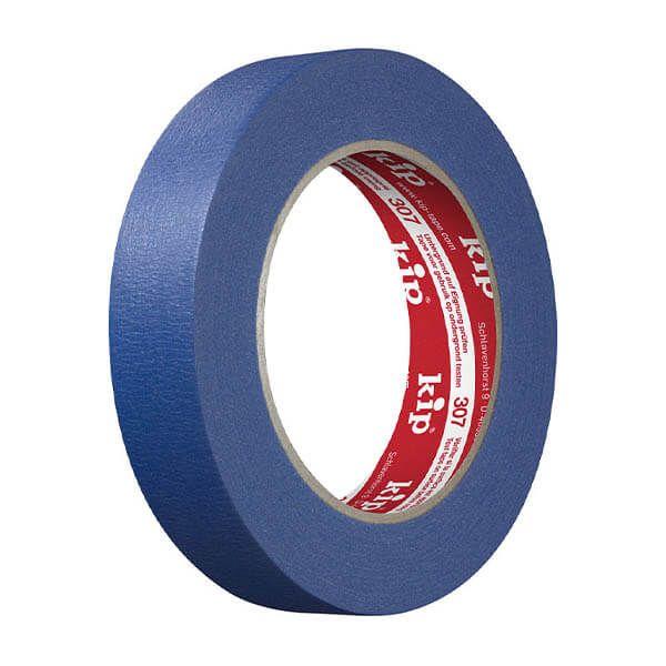 Ruban de masquage Kip Masking Tape 307 bleude | 50 m x 24 mm