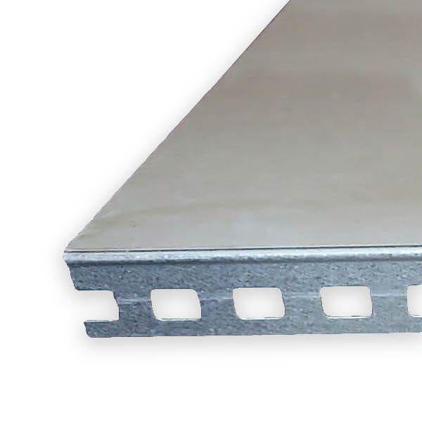Dagkantelement 2600x230x12,5mm DK1 2600X230X12,5 VERZINKT