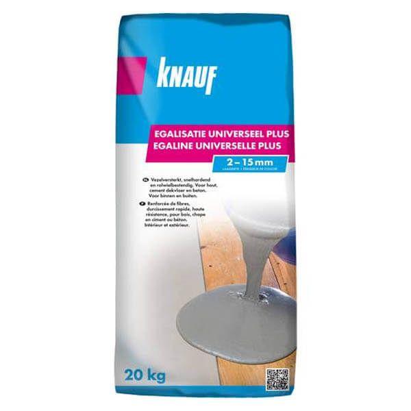 Égaline universelle Knauf en sacs de 20 kg