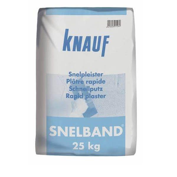 Knauf Snelband Plâtre rapide 25 kg