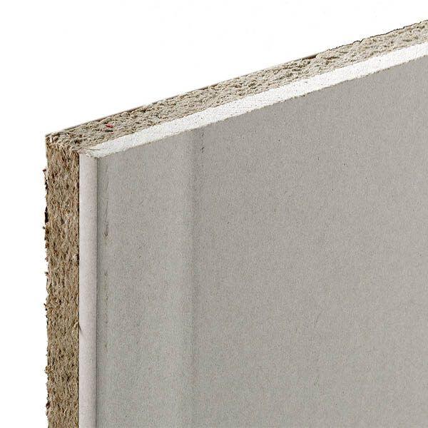 Plaque de plâtre Acoustix Pan-Terre de 2,50 m x 0,6 m x 28,5 mm