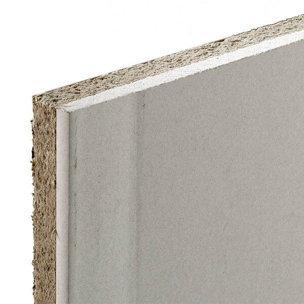 Plaque de plâtre Acoustix Pan-Terre de 2,50 m x 1,2 m x 28,5 mm