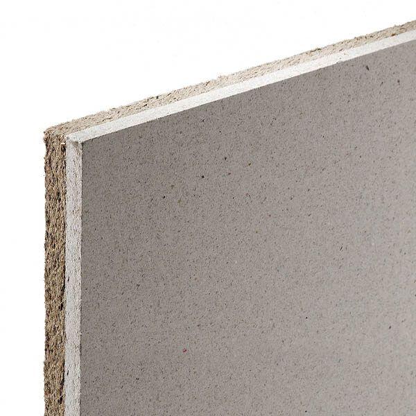 Plaque fibres-gypse Acoustix Pan-Terre de 2,50 m x 0,6 m x 28,5 mm
