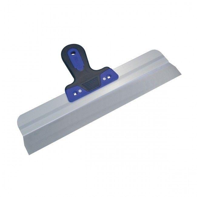 Couteau à enduire Pinguin Dura-Soft en inox de 40 cm x 0,5 mm