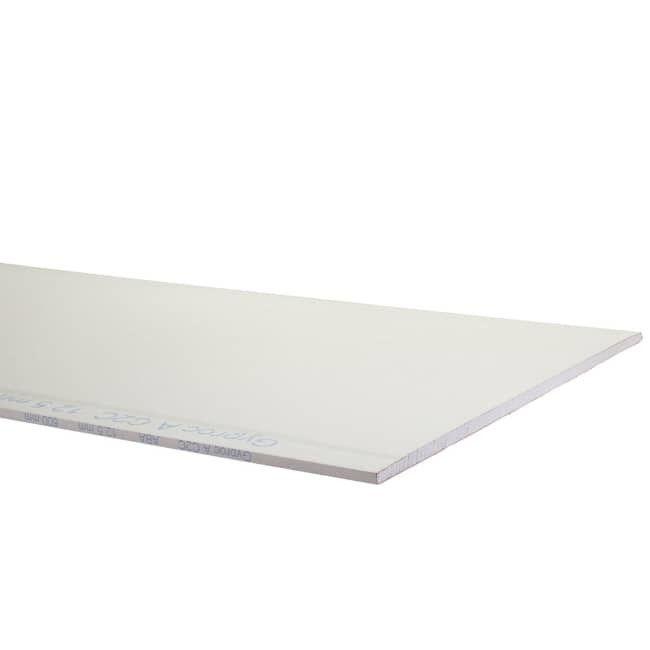 Plaque de plâtre Gyproc 4xABA de 2,5 m x 0,6 m x 12,5 mm