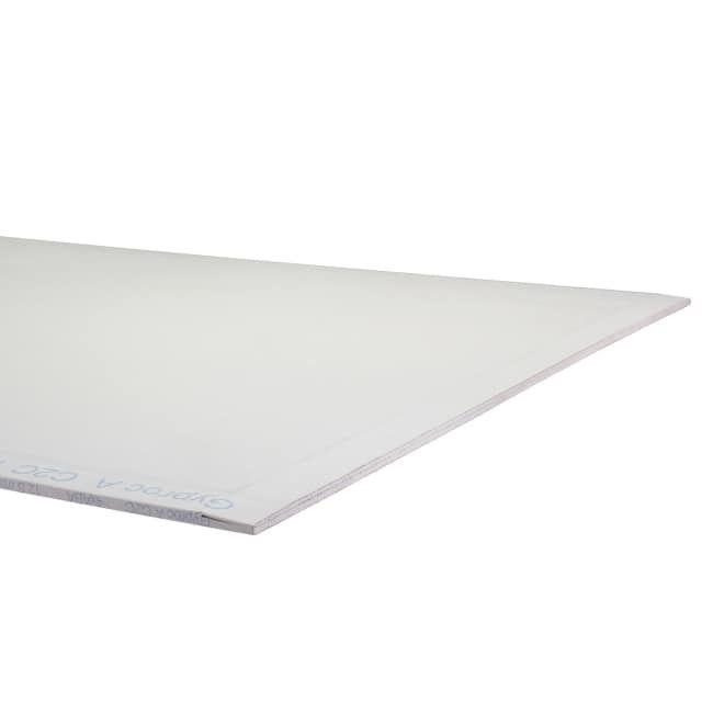 Plaque de plâtre Gyproc 4xABA de 2,6 m x 1,2 m x 9,5 mm