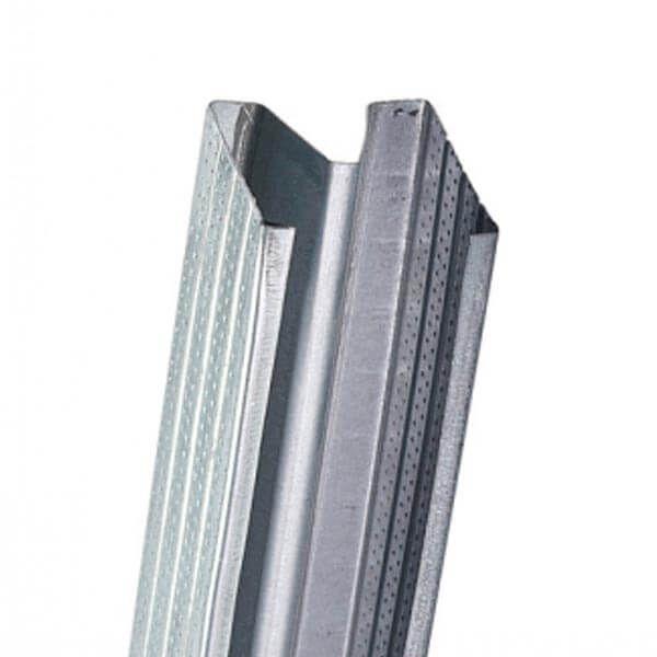 Profilé acoustique Gyproc Metal Stud DB75 3 m