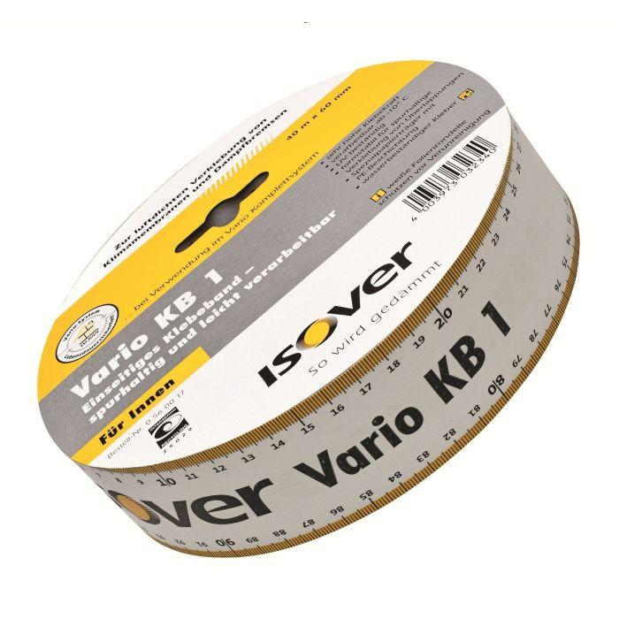 Isover Vario KB1 kleefband eenzijdig 40mx6cm I16432