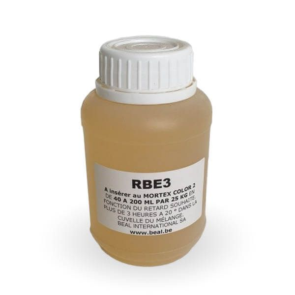 Retardateur de prise Beal RBE3 Color en bidons de 250 ml