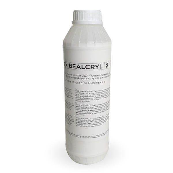 Liquide de gâchage Beal Bealcryl 2 en bidons de 1 l