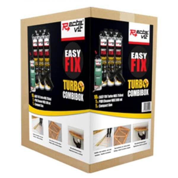 Rectavit Easy Fix Turbo Combibox Ensemble Colle