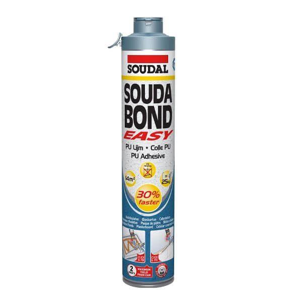 Soudal Soudabond Easy Click & Fix Colle PU 0,75L