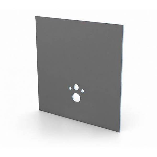 Wedi I-Board Plaque de construction pour Toilette Suspendue | 1245 x 1200 x 20 mm