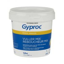 Gyproc Vulmiddel Mix Pleisterplamuur Pasta 1,5kg G109384