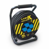 Enrouleur de câble professionnel Lumx de 25 m