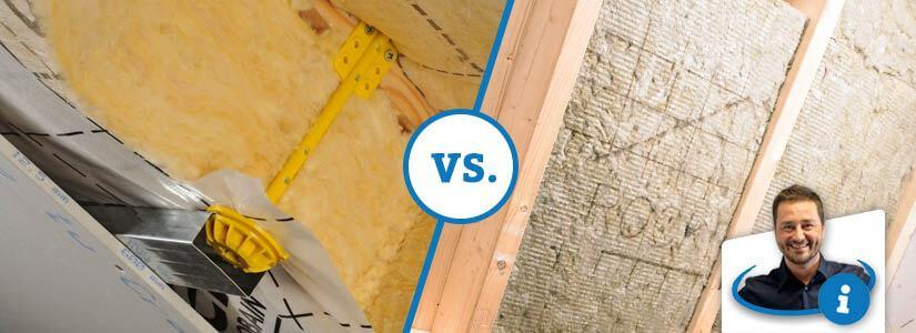 Laine de verre ou laine de roche: quelles sont les différences?