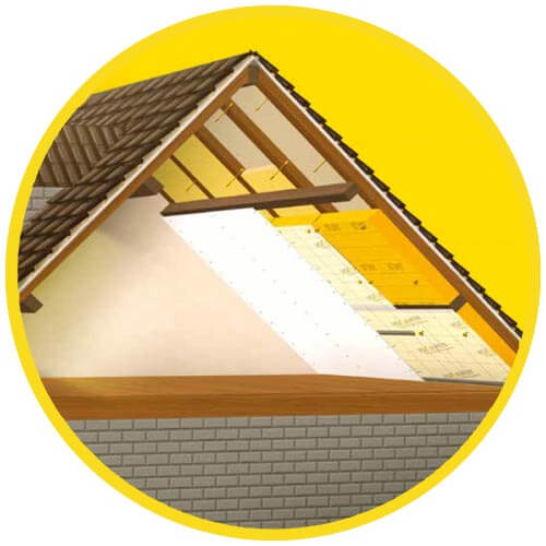 Isolation Toiture avec laine de verre - Perfect Roof Isover