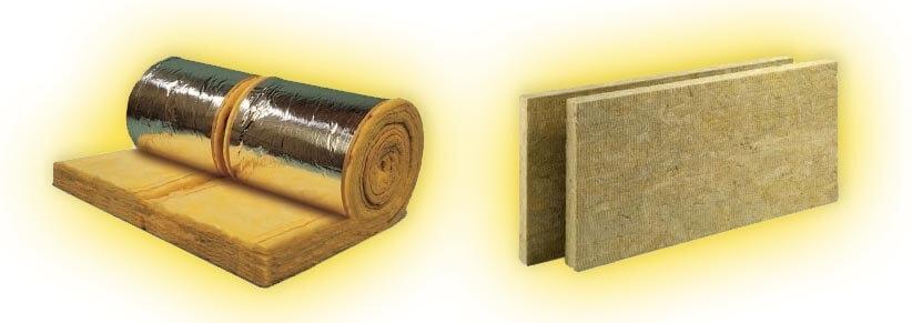 Différence entre la laine de verre et la laine de roche