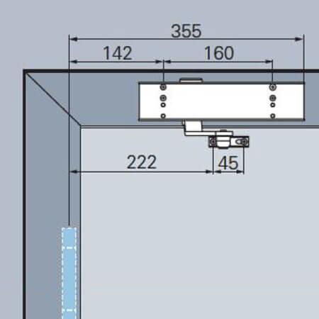 deurpomp schaararm
