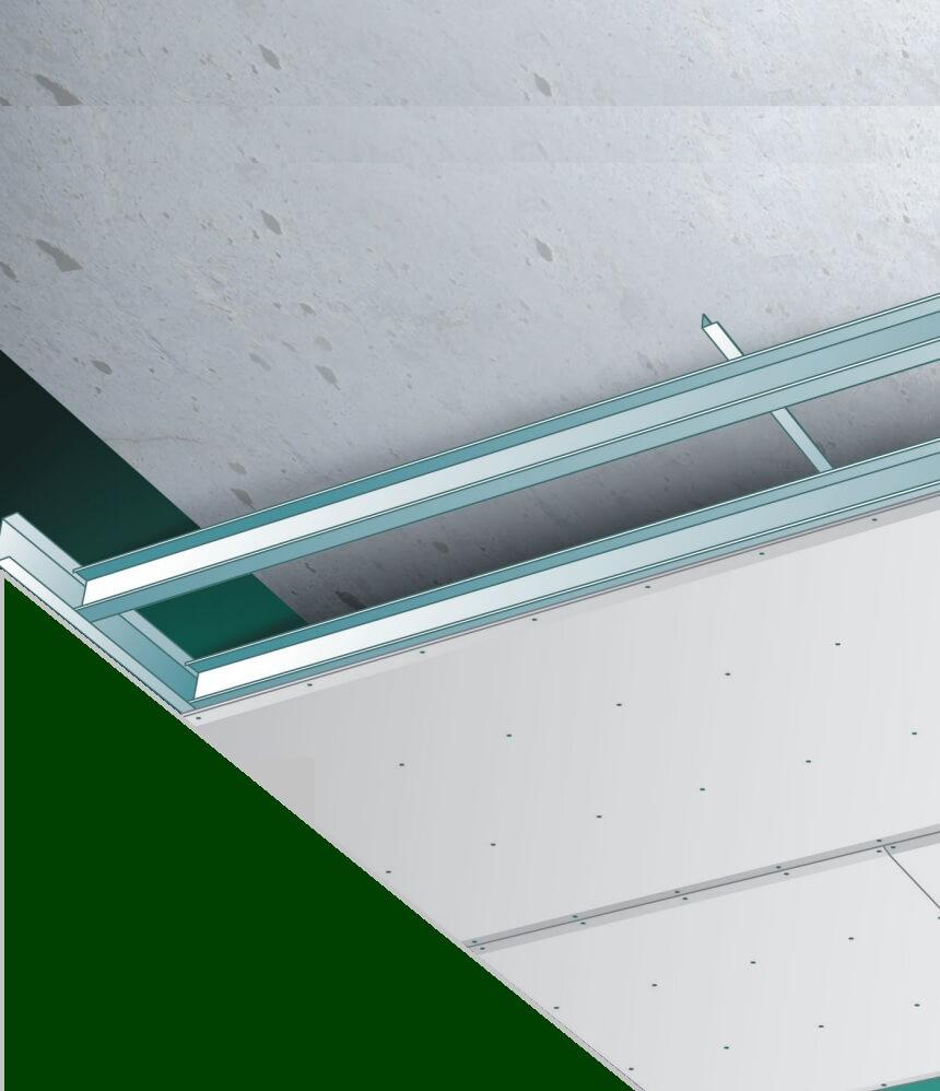 Conseils Bricolage Installer un plafond Gyproc Metal Stud