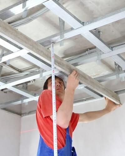 Plafond Gyproc Metal Stud