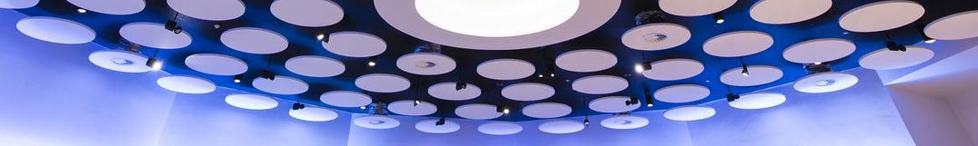 Panneaux d'îlots de plafond